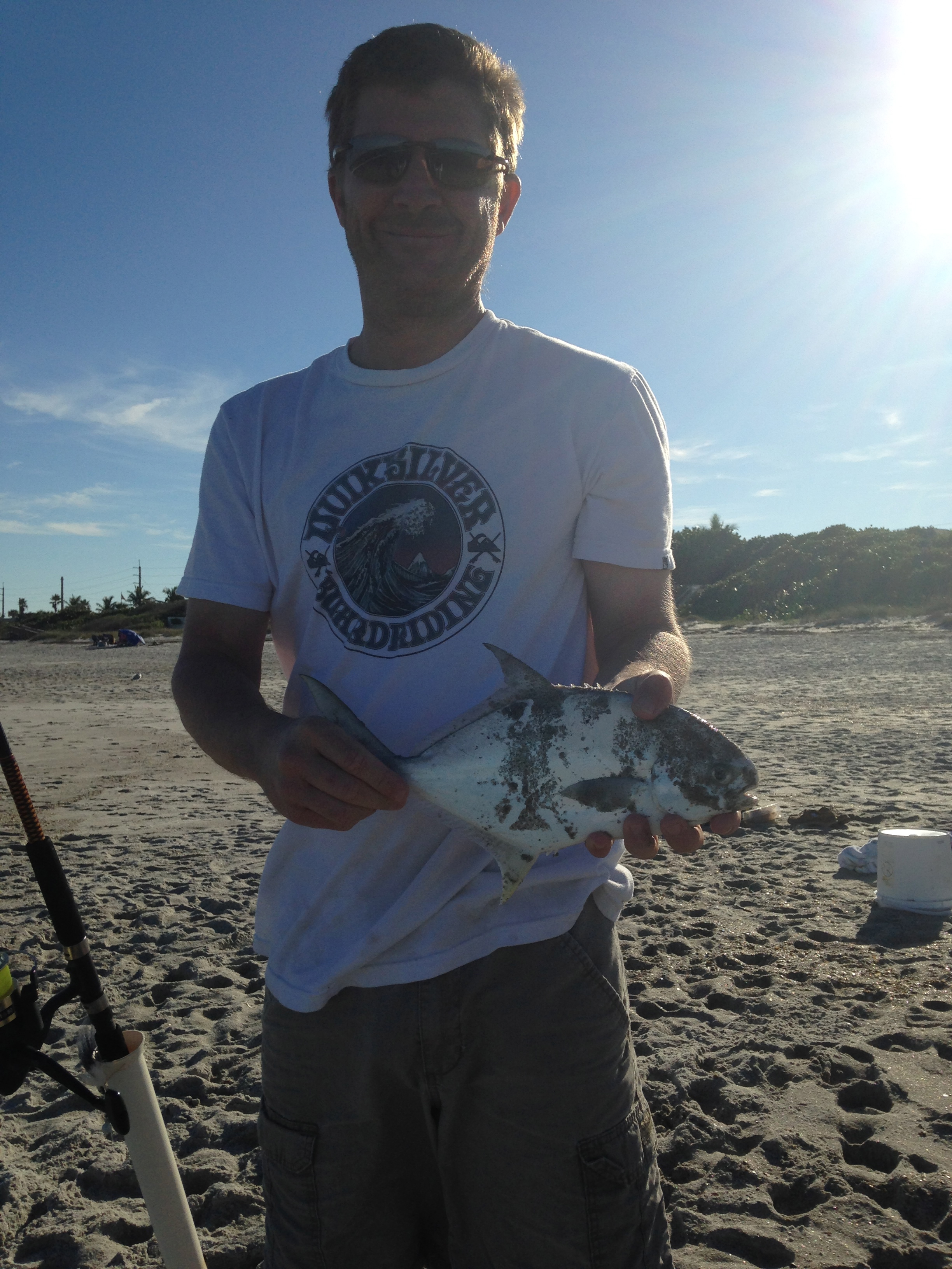 Pompano melbourne beach surf fishing blackdog for Pompano beach fishing report